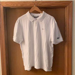 Men's Nike Golf Polo White Large